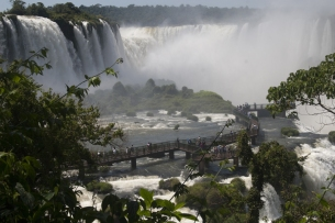 Iguazu waterfalls, Brazilian side