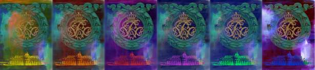 Potsdam Park Sanssouci - Wappen am Grünen Tor