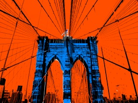 Brooklyn Bridge PopArt