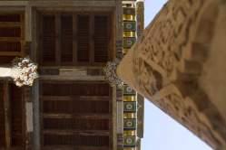 Column in a beautiful mosque