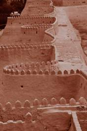Khiva city wall