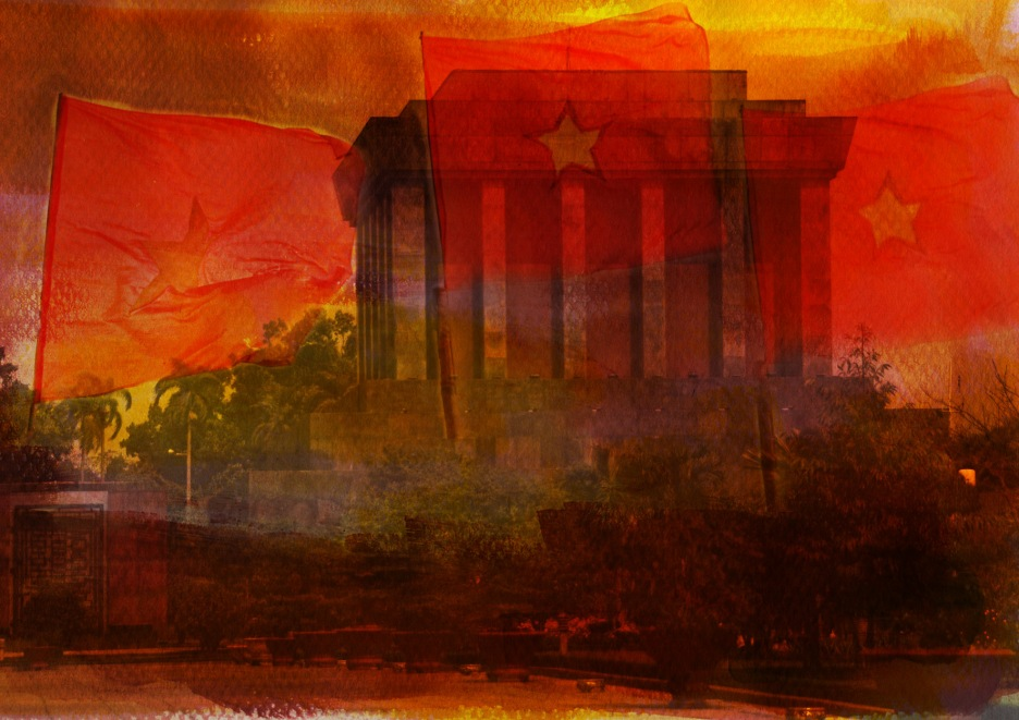 Hanoi - Mausoleum of Ho Chi Minh