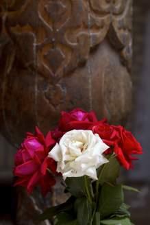 Roses in a hamam
