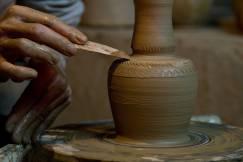 Clay artist