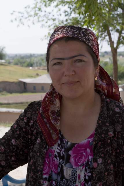 An Uzbek beauty
