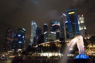 Singapur Financial District