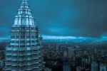 KL Towers in Blue copy