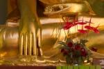Detail Shewdagon Pagoda Yangon