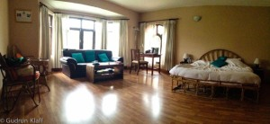 My room in the ROKPA guesthouse - love it