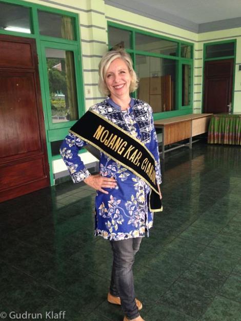 """Bei der """"Mr und Miss Cianjur Tourismus Wahl"""""""