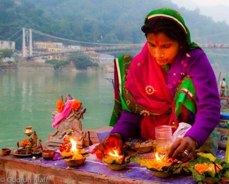 Opfer für Ganga